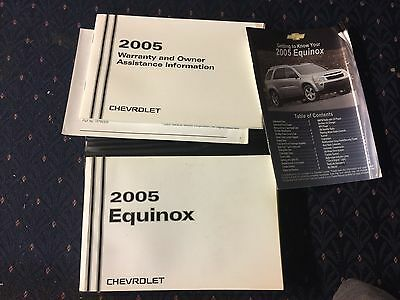 2005 Chevrolet Equinox Owners Manual