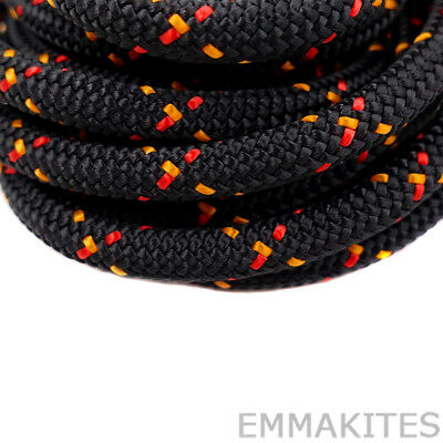 Double Braid 6mm Climbing Accessory Cord Rope 20ft for Arborist Caving Tree Work