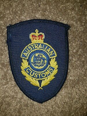Obsolete Australian Airport Customs Patch (Not Police Border Aviation)