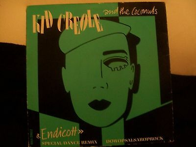 "Kid Creole And The Coconuts ‎– Endicott (Special Dance Remix) 12"" single"