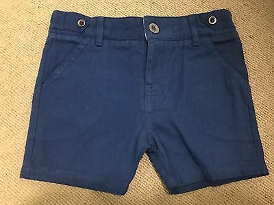 Pure Baby Boys Chino Shorts 6-12 Months Brand New!