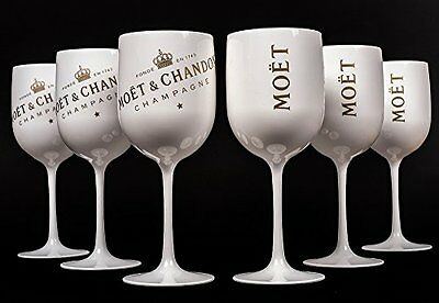 Moet Chandon Ice Imperial Champagne Glasses New Design 2016 Set of 6