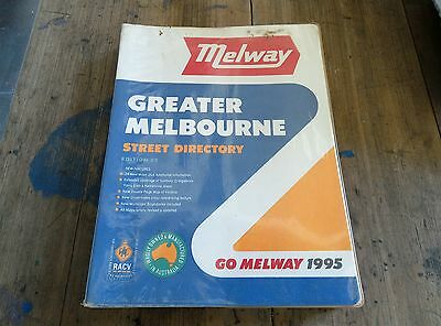 Melways 1995 street directory. Very good condition.