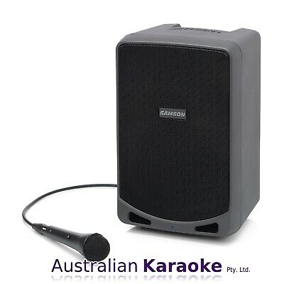 NEW Samson XP106 - Rechargeable Portable PA With Bluetooth With Wired Microphone