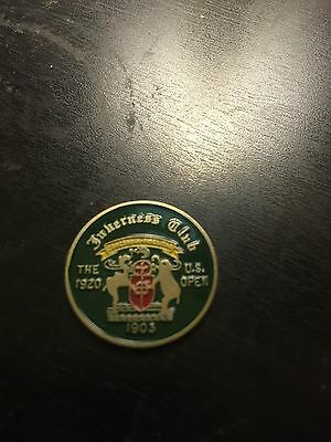 1920 US Open Golf Ball Marker- Inverness Club- Ted Ray Winner