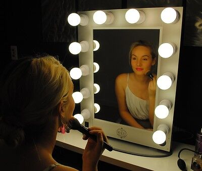 Hollywood Makeup Mirror with lights Vanity Lighted Beauty Theatre Mirror