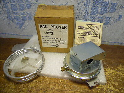 Tjernlund Products Part # PS1505 Fan Proving Air Pressure Switch W/Hardware NOS