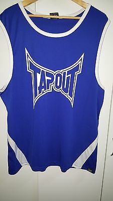 Bulk Lot 4 X Singlets Muscle Tanks Size 3Xl Mens Big Boy Tapout Ufc Bintang