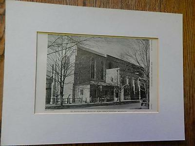 All Saints Church,Brookline,MASS.,G & Ferguson, Archs, Amer Arch,1928,Lithograph