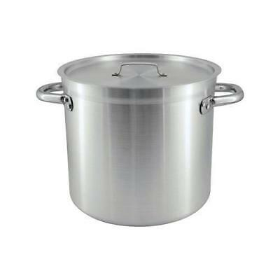 Stockpot with Cover / Lid, 120L, Aluminium, Chef Inox, Commercial Stock Pot