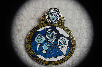 Disney Pin 115792 Disney Park Attractions Mystery Box Set - The Haunted Mansion