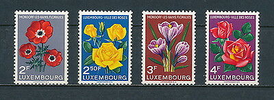 Luxembourg #310 - 13 MNH, Flowers 1956