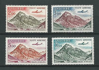 Andorra,French Admin 1961-4 Sc C5-8 D'Incles Valley MNH Cat $11 Beautiful!