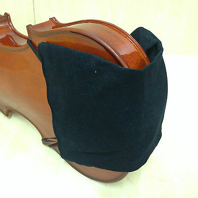 3/4, 4/4 Size Violin Shoulder Rest & Chin Comforter. Black