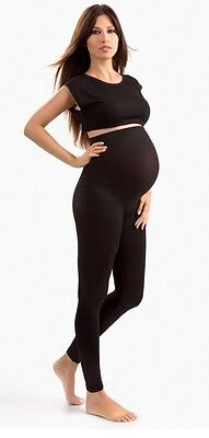 NWT Blanqi Maternity Belly Support Leggings Size Small