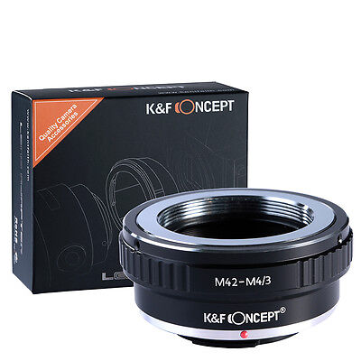 K/&F Concept Adapter for Contax Yashica Mount Lens to Micro 4//3 M4//3 Mount Adapter G6 GH