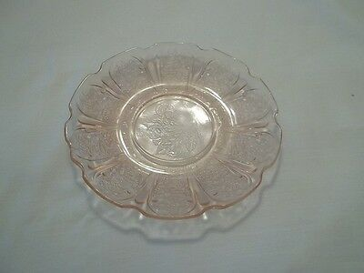 Jeannette CHERRY BLOSSOM Depression  Pink  Saucer Plate