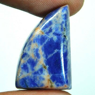 21.4cts Fab 100% Natural Sodalite Fancy 25x16x7 Loose Gemstone