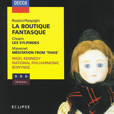 Nigel Kennedy (Vl) - Rossini/Respighi: La Boutique Fantasque; Chopin: Les Syl...