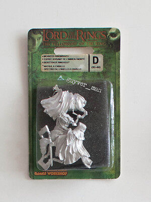 Games Workshop LOTR Fellowship of the Ring Mounted Ringwraith Nazgul metal