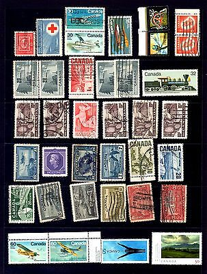 Canada Stamp collection-2 Mainly used