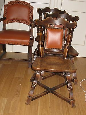 AMERICAN ANTIQUE CHAIRS***Three antique chairs in perfect  condition from 1780
