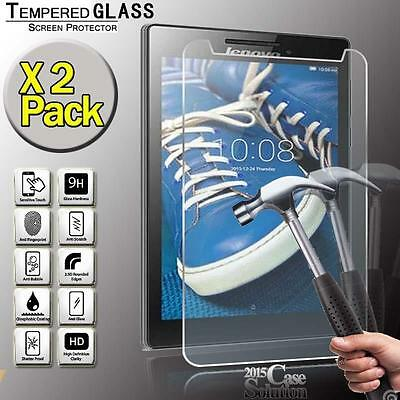 2 Pack Tempered Glass Screen Protector for Lenovo Tab 3 8 LTE Tablet