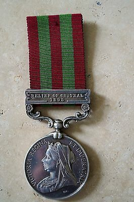 Original Full Size Victorian 1895-1902 Indian General Service Medal