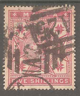 Malta Old Issue # 11 Used  High Fine