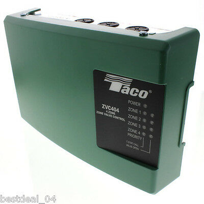 Brand New Taco Zvc404-4 Four Zone Valve Control Module With Priority