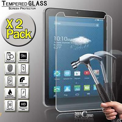 """2 Pack Tempered Glass Screen Protector for Alcatel OneTouch PIXI 3 8.0"""" Tablet"""