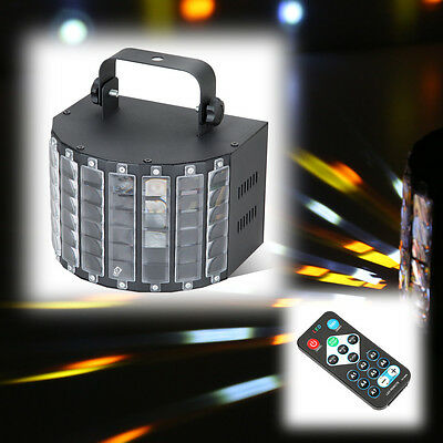 Stage Lighting DMX Sound Active LED Light Laser RGBW Effect Club Disco DJ Party