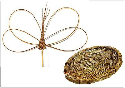 Make this willow Frame Basket and 3 willow Dragonflies, 2  kits for beginners.