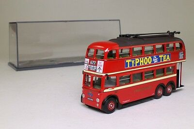 Corgi OOC 43701; Q1 Trolleybus; London Transport: 667 Fulwell; Excellent Boxed