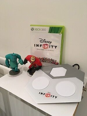 Xbox 360 Disney Infinity Starter Pack - Game, Stand And Two Figures