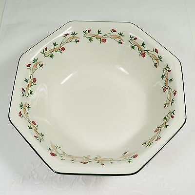 "Johnson Brothers ""ETERNAL BEAU"" Round Fruit or Salad Serving Bowl - 23cm"