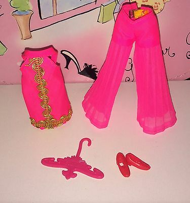 Vintage Topper Dawn Doll Glamour Jams Outfit #8124 Minty