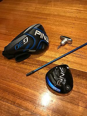 Ping G30 Golf Driver - Stiff Shaft - Headcover + Wrench Included