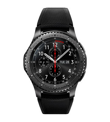 Genuine Samsung Gear S3 Frontier Smartwatch - Black SM-R760 Bluetooth AMOLED