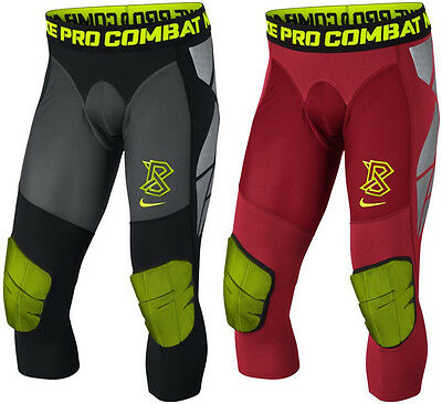 Men Nike Pro Combat Hyperstrong Compression Vapor Speed Slider Tights Padded NWT