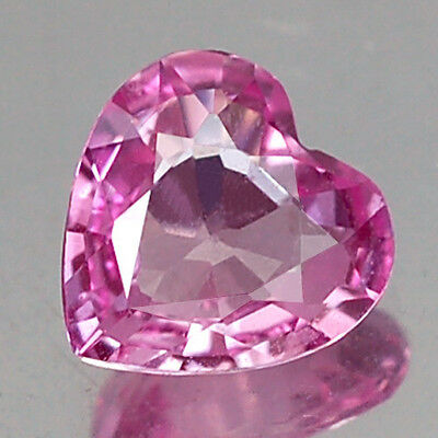 0.93Ct Awesome Aa Heart Heated Only Pink Sapphire Natural