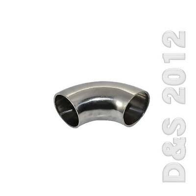 "OD 32mm 1-1/4"" Sanitary Weld Elbow Pipe Fitting 90 Degree Stainless Steel SUS316"