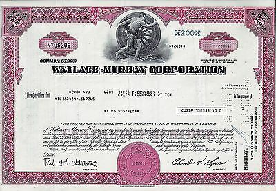 Wallace-Murray Corporation, Delaware 1976  (200  Shares)