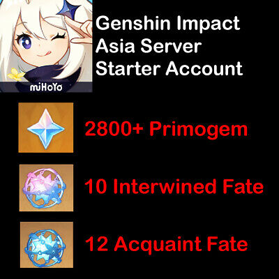 Fate Grand Order Starter Quartz Account JAPAN 870 quartz + 47 ticket + 100 apple