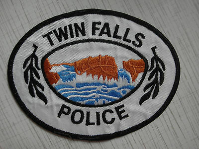 Patch police Twin Falls Police Department USA Idaho New Rarity