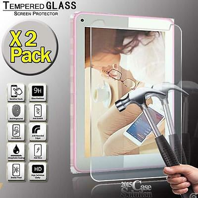 """2 Pack Tempered Glass Screen Protector for CELLO 7"""" INCH Tablet"""