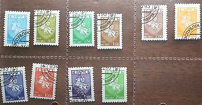 Belarus Stamps - 10 x State Arms 1992