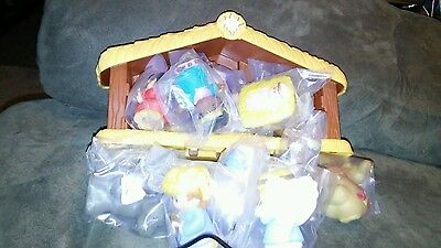 NEW-FISHER PRICELITTLE PEOPLE NATIVITY SET age 1-5 yrs