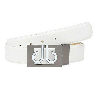 Druh Golf Players Collection Belt White New From Japan For Waist Max 100cm