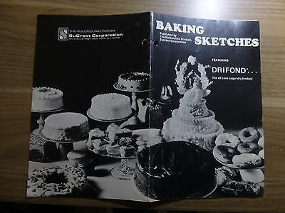 Literature for Bakeries - American Molasses - Drifond - 18 pages - 1971